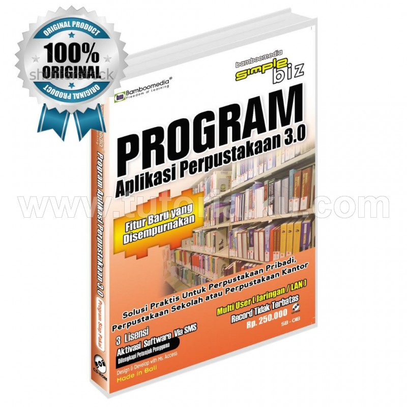 Program Aplikasi Perpustakaan 3.0